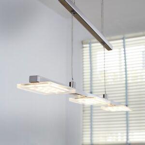 Wofi-LED-Pendelleuchte-Darwin-3-flg-Nickel-Dimmbar-Hoehenverstellbar-14-4-Watt