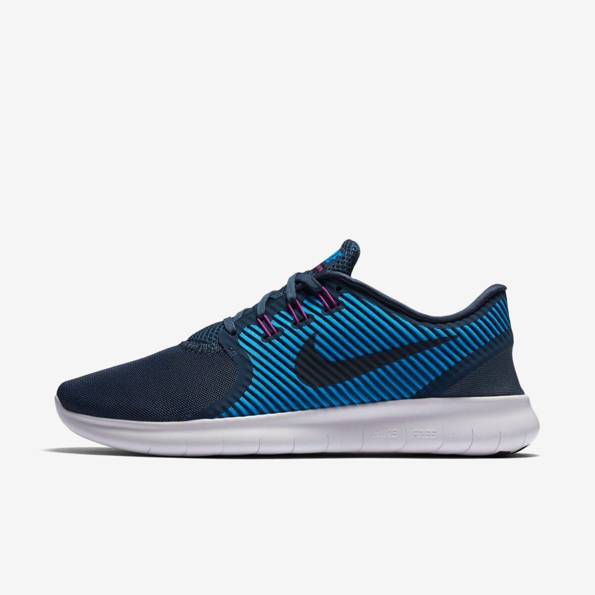 donna Nike Free Run CMTR Dimensione 3.5 4 blus  Running scarpe New  in linea