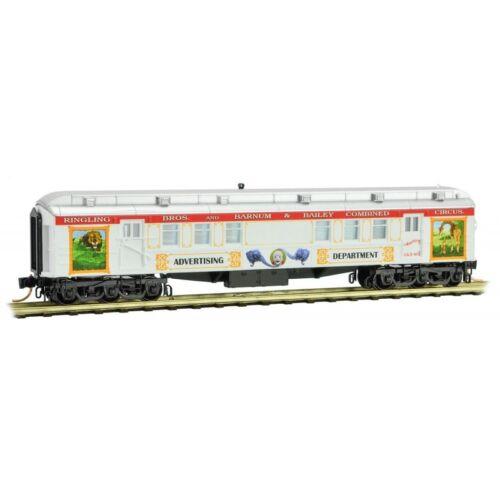 MTL MICRO-TRAINS N 140 00 210 * ADVERTISING RPO HEAVYWEIGHT CAR RINGLING BROS
