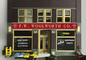 F-W-Woolworth-Co-Animated-Sign-88-2001-HO-O-Scale-Miller-Engineering-New