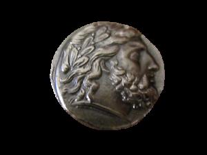 Grecque-Antique-Macedoine-Philippe-II-Tetradrachme-Reamorcage