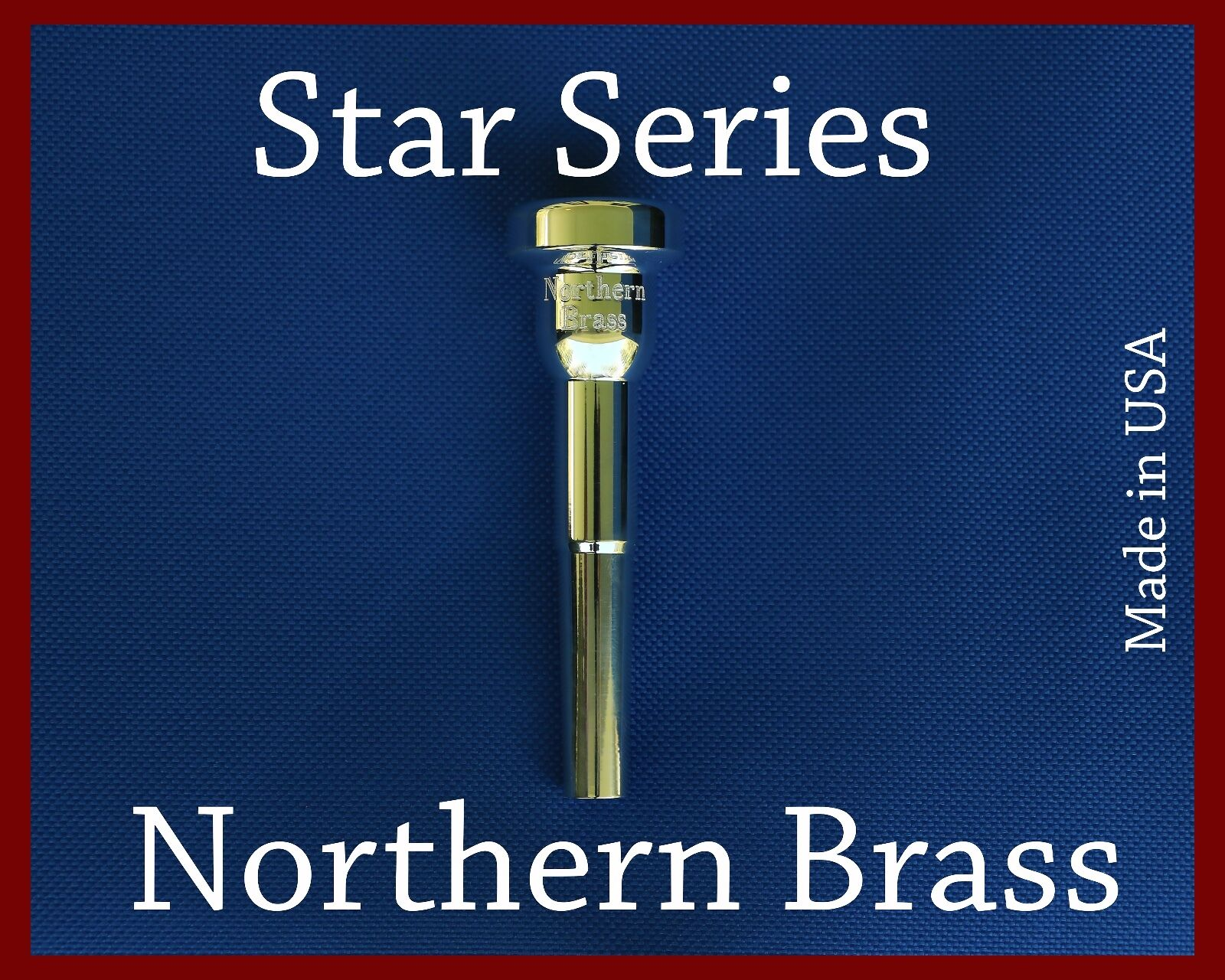 Northern Brass 4-66 3 Star Trumpet Mouthpiece By GR