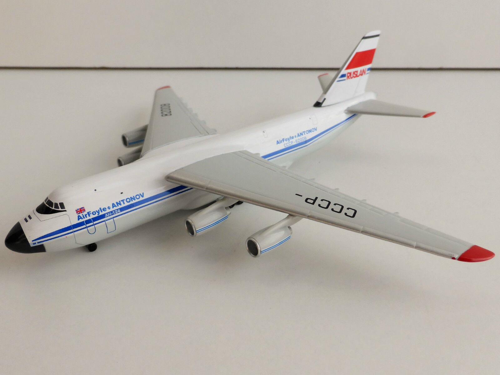 Antonov AN-124 AIR FOYLE 1 500 Herpa 524865 Antonow AN124 CCCP-82008  | Good Design