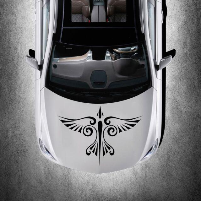 Car Hood Vinyl Decal Graphics Stickers Murals Design Phoenix Bird Tattoo SV4931