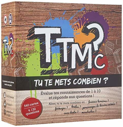TTMC Pixie Game Jeu Familial Soirée FUN entre amis NEUF++ Tu te mets combien