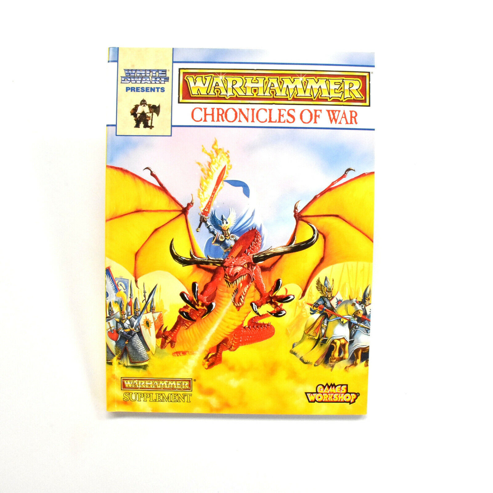 WARHAMMER FANTASY book supplement Chronicles of War Games workshop
