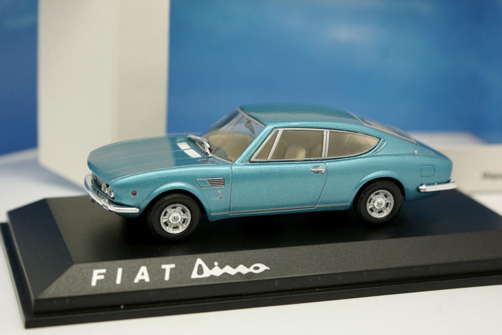 Norev 1 43 - Fiat Dino bluee 1968