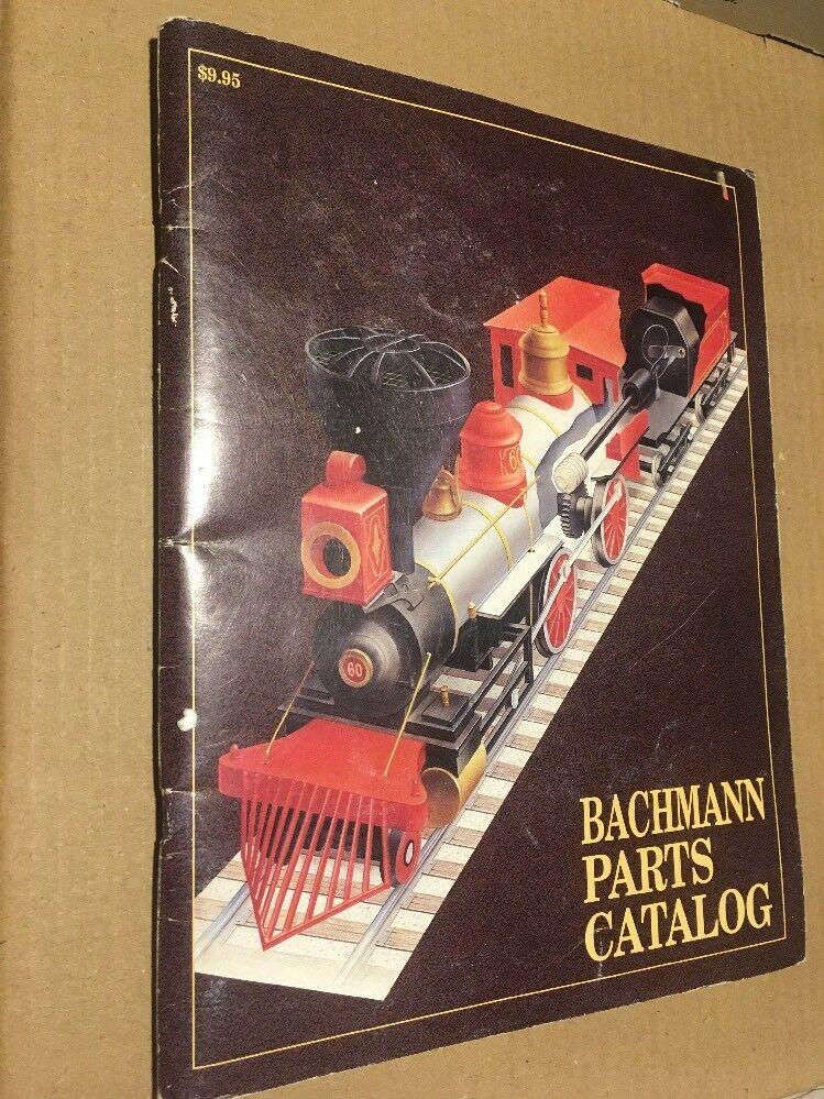 BACHMANN VTG HO N TRAIN Toy Model Diesel Steam Locomotive 1990 Parts CATALOG PA
