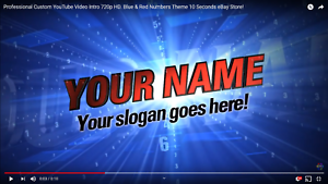 Professional-Custom-YouTube-Video-Intro-720p-HD-Blue-amp-Red-Numbers-Theme-10-Sec