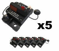 Qty5 Vcb100 Shakespeare Comp 24v Trolling Motor 100a Fuse Marine Circuit Breaker