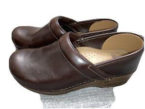 Dansko Professional Clogs Brown Leather