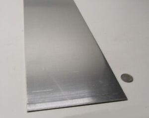 """set of 4 .080 Aluminum Sheet Plate 5052 6/"""" x 12/"""""""