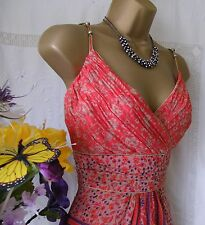 "MONSOON PRE-OWNED ""NICOLE"" MAXI DRESS SIZE 16"
