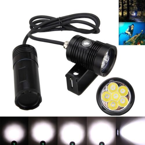Unterwasser Tauchen 10000LM 6x XM-L2 LED Diving Kopflampe Tauchlampen bis 150m