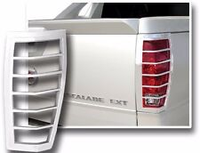 FITS CADILLAC ESCALADE EXT 2002-2006 CHROME ABS TAIL LIGHT BEZELS TRIM 2PCS