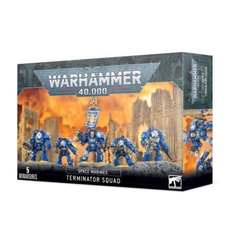Space Marines Terminator Squad 48-10 Games Workshop Warhammer 40K 40000 Citad...