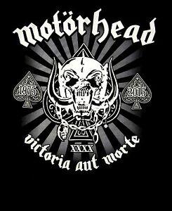 MOTORHEAD-cd-lgo-40th-ANNIVERSARY-Official-SHIRT-LRG-New-victoria-aut-morte