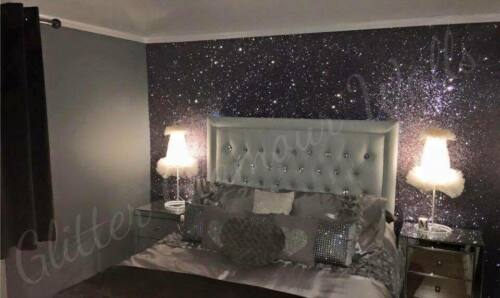 Single half meter Glitter wallpaper glamour range