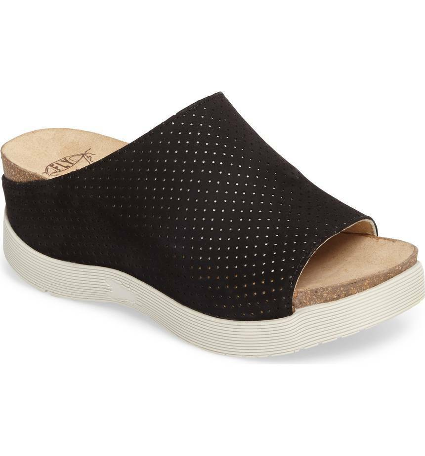 FLY LONDON Whin Platform Sandal Sz.40