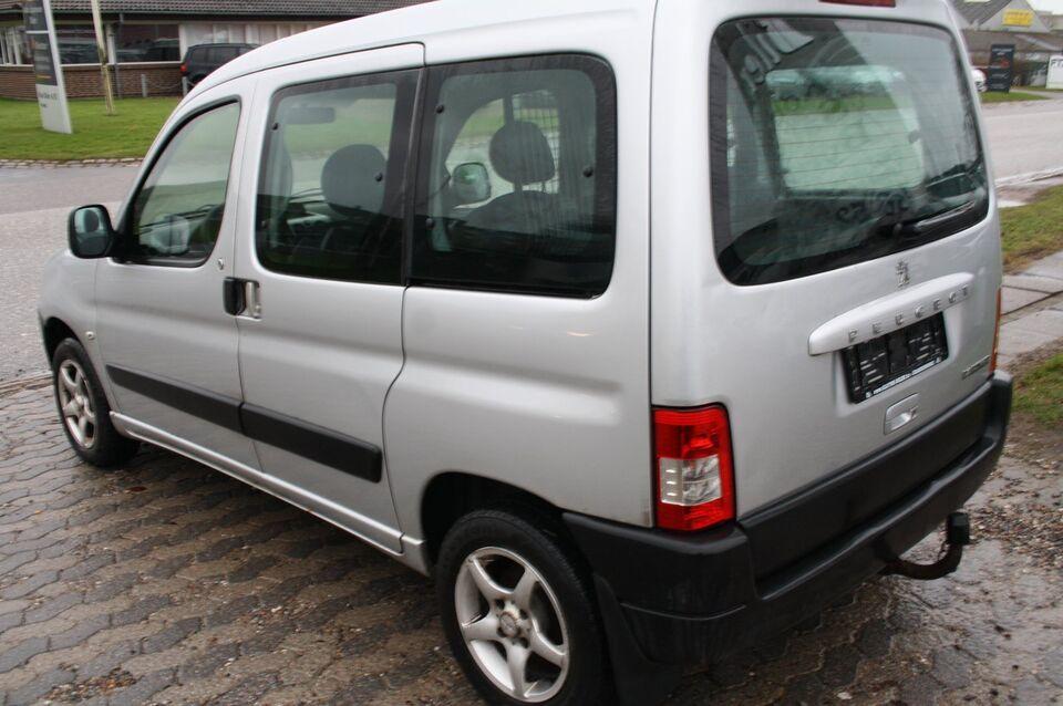 Peugeot Partner 1,6 HDi X-Line Diesel modelår 2007 km