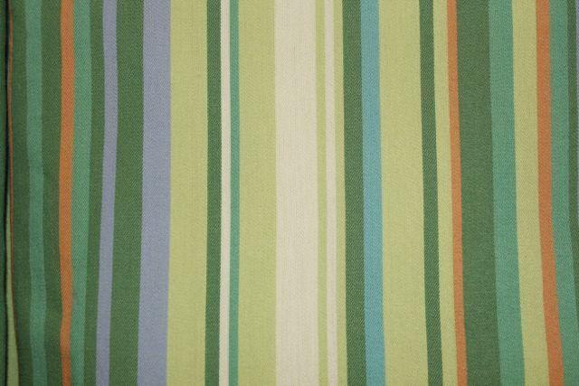 Twin Duvet Cover Meadow Green Resort Stripe Yarn Dyed Yellow bluee Company Store