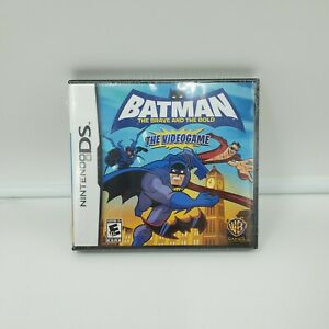 Batman-The-Brave-and-the-Bold-Nintendo-DS-Video-Game-Brand-New-Factory-Sealed