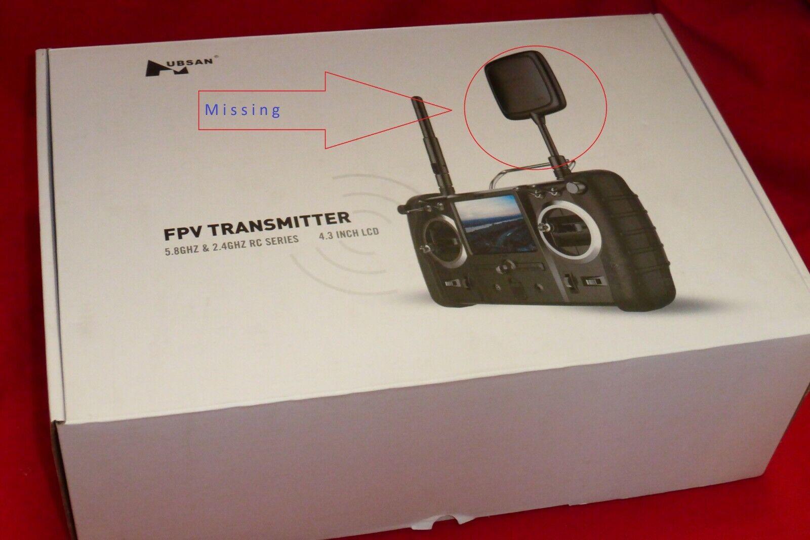 nuovo Hubsan X4 Pro  H109S Quadcopter Transmitter Remote Controller w Parachute Kit  elementi di novità
