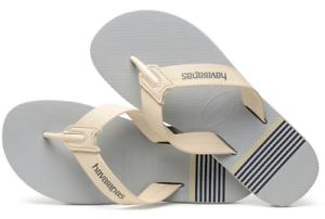 dc175dae986d5 Havaianas Men`s Brazilian Flip Flops Urban Craft Sandals Ice Grey ...