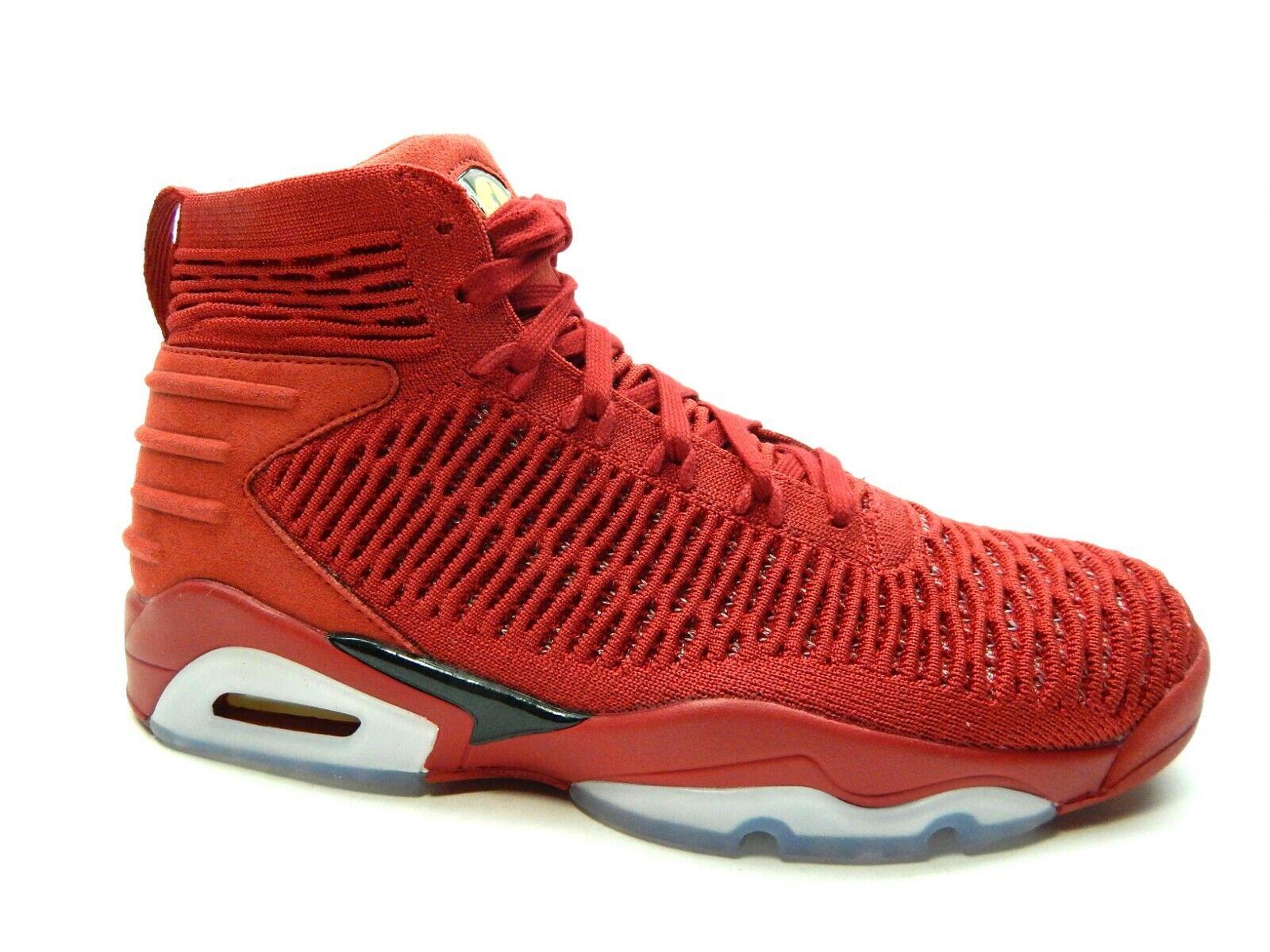 Jordan FLYKNIT Elevation 23 Hombres Zapatos Universidad Rojo Negro AJ8207 601