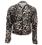 Womens-Ladies-Scuba-Long-Sleeve-Zip-Front-Bomber-Jacket thumbnail 14
