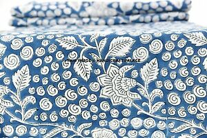 Image Is Loading 5 Yard Indian Voile 100 Cotton Handmade Hand