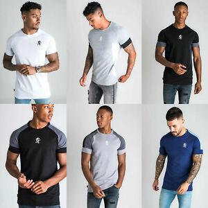GYM-KING-Mens-Core-Plus-High-Build-Logo-Retro-Designer-Casual-T-Shirt-Tee-Top