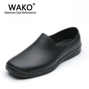 Details about Mens Chef Slip Resistant Non Skid Kitchen Cook Safet Oil  Resistant Shoes For Men 5aede665f