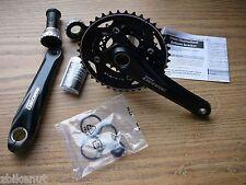 eb73a284c19 item 5 Shimano Deore FC-M612 Bike Crankset 10 spd 175mm 40/30/22 w/BB Cups  Black Cranks -Shimano Deore FC-M612 Bike Crankset 10 spd 175mm 40/30/22  w/BB Cups ...