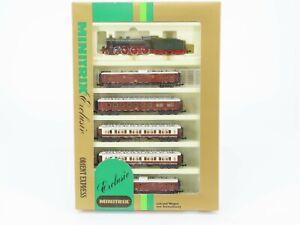 N-Scale-Minitrix-1017-CIWL-Orient-Express-Passenger-Train-Set-w-Steam-Loco