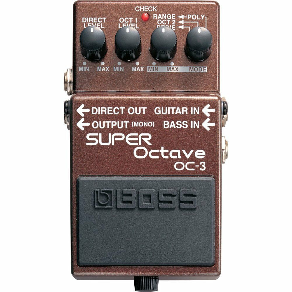 BOSS OC-3 Dual Super Octave Guitar Effects Pedal