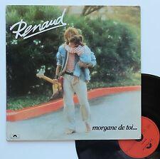 """Vinyle 33T Renaud  """"Morgane de toi..."""""""
