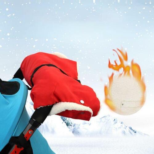 Winter Warm Stroller Gloves Kids Pushchair Hand Mitten Pram Accessory Waterproof