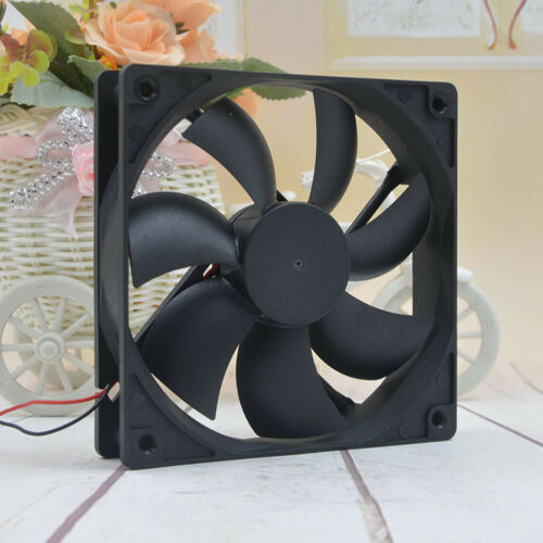 TD1225LS 12025 12V0.18A 12CM 3-PIN chassis ultra-quiet computer power fan