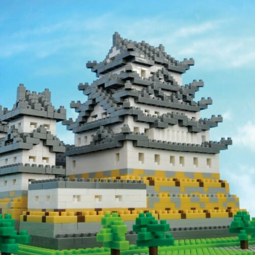 Kawada NanoBlock Himeji Castle NB-006 Building Block Kit New Japan