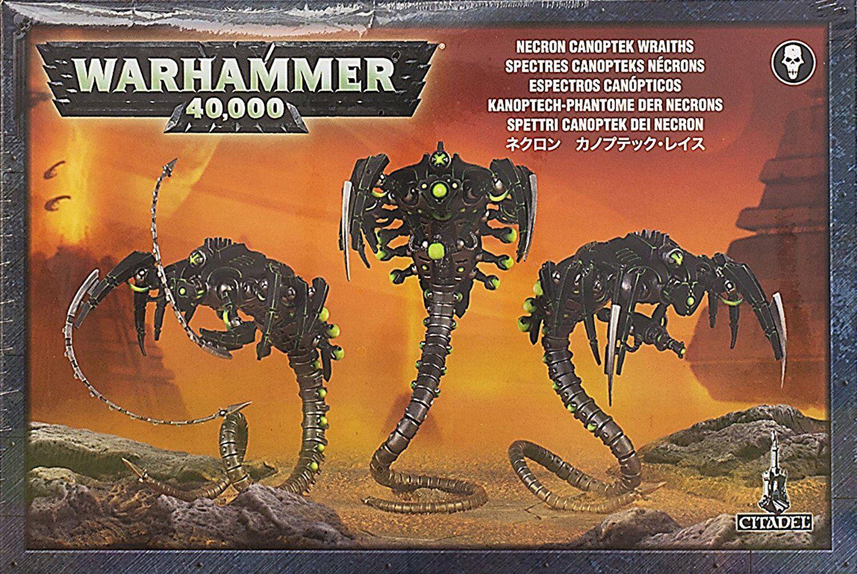 Warhammer 40k  Necron Canoptek Wraiths GWS 49-14 NIB