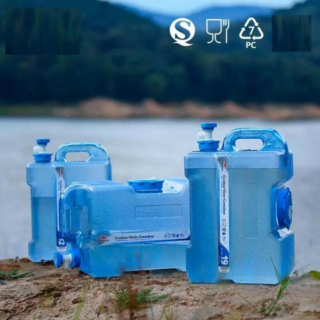 Water Barrel Camping Water Container Outdoor Tourism Hiking Water  12L 19L 24L  very popular