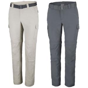 Détails sur COLUMBIA Silver Ridge II Convertible de Marché de Randonnée Pantalon pour Hommes