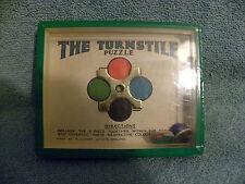R.J. Series- THE TURNSTILE Dexterity Game - 1950'S Journet Co. London- EUC -EB11
