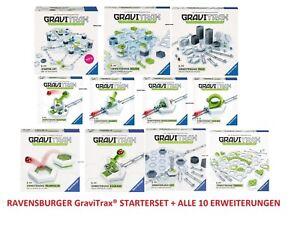 RAVENSBURGER-GraviTrax-STARTERSET-10-ERWEITERUNGEN-KUGELBAHNSYSTEM