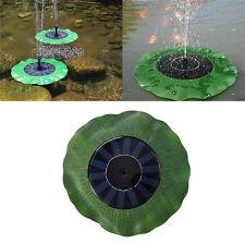 Solar Power Fountain Pool Water Pump Garden Pond Plants Watering Kit