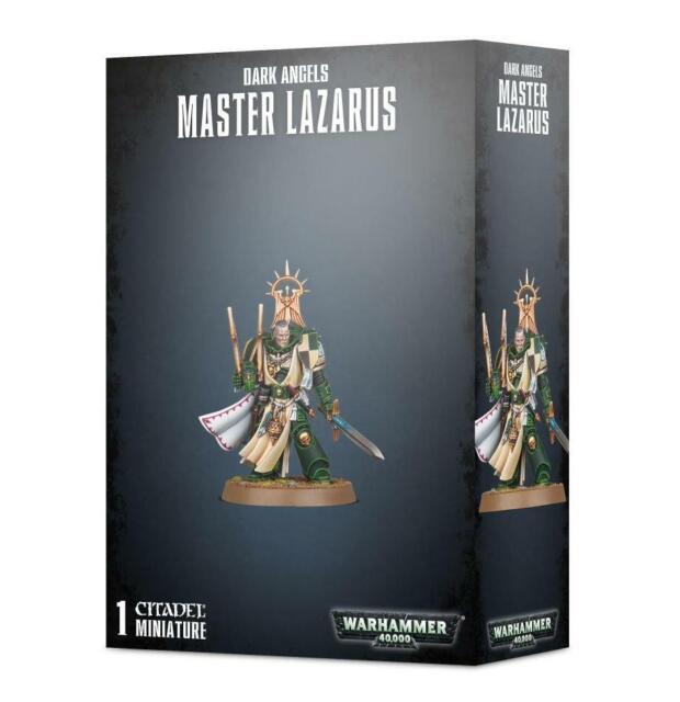Warhammer Games Workshop 40k Dark Angels Master Lazarus 44-16