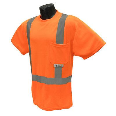 Class 2 Radians ST21B-3PGS Type R Long Sleeve Shirt...Hi Vis ANSI