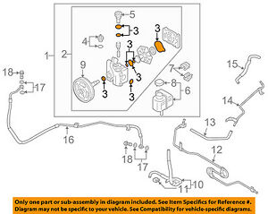 Terrific Mazda Oem 03 13 6 Power Steering Pump Seal Kit Gj6A32610 Ebay Wiring Cloud Rectuggs Outletorg