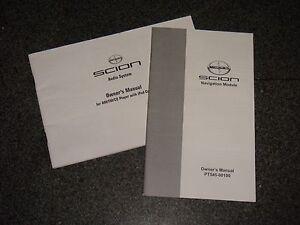 2010 scion tc navigation audio system owners manual ebay rh ebay com 2010 Scion tC Manual Light Bulb 2010 Scion tC Black